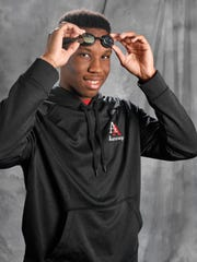 All-Midstate Jarel Dillard, swimmer from Aaron Academy