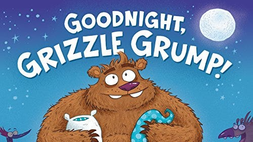 """""""Goodnight, Grizzle Grump!"""" was written and illustrated by Green Bay native Aaron Blecha."""