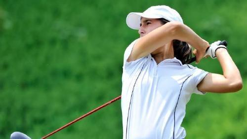 Greenville High's Carly Burkhardt has signed with the Furman University women's golf program