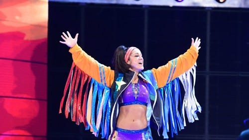 WWE superstar Bayley.