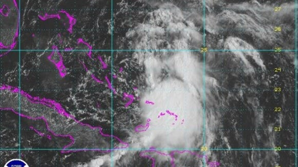 Tropical Storm Cristobal today