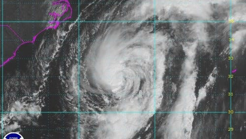 Hurricane Cristobal today