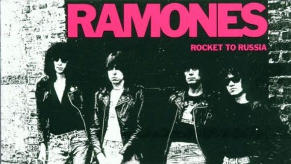 """Rocket to Russia"" by the Ramones."