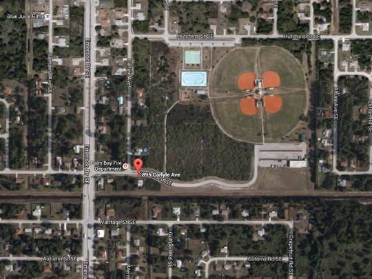 Two people were shot at Liberty Park in Palm Bay on Saturday evening.