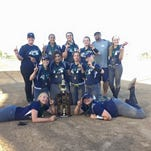 The Nevada Comets 14-U team won an NSA tournament over the weekend.