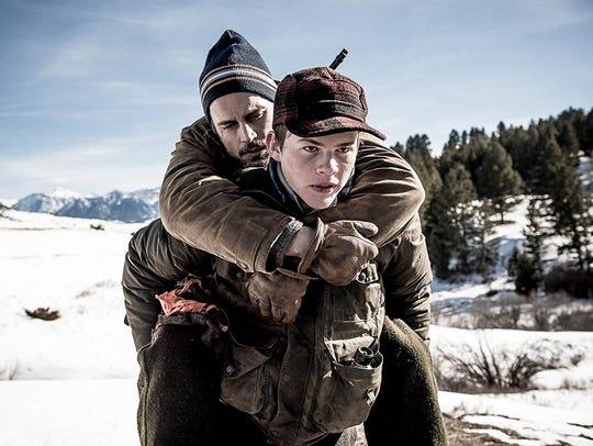 "Matt Bomer and Josh Wiggins star in ""Walking Out."""