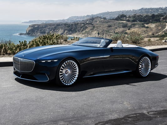 Mercedes-Benz debuts new concept with '30s flair