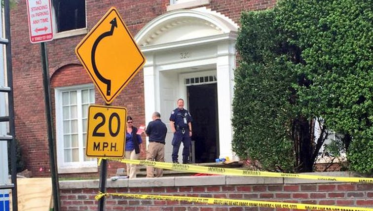 ATF agents at the Savopolous family's home collecting