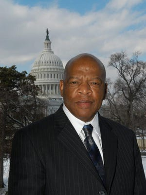 U.S. Rep. John Lewis, D-Ga., a prominent civil rights leader, served 33 years in Congress before his death on July 17, 2020.
