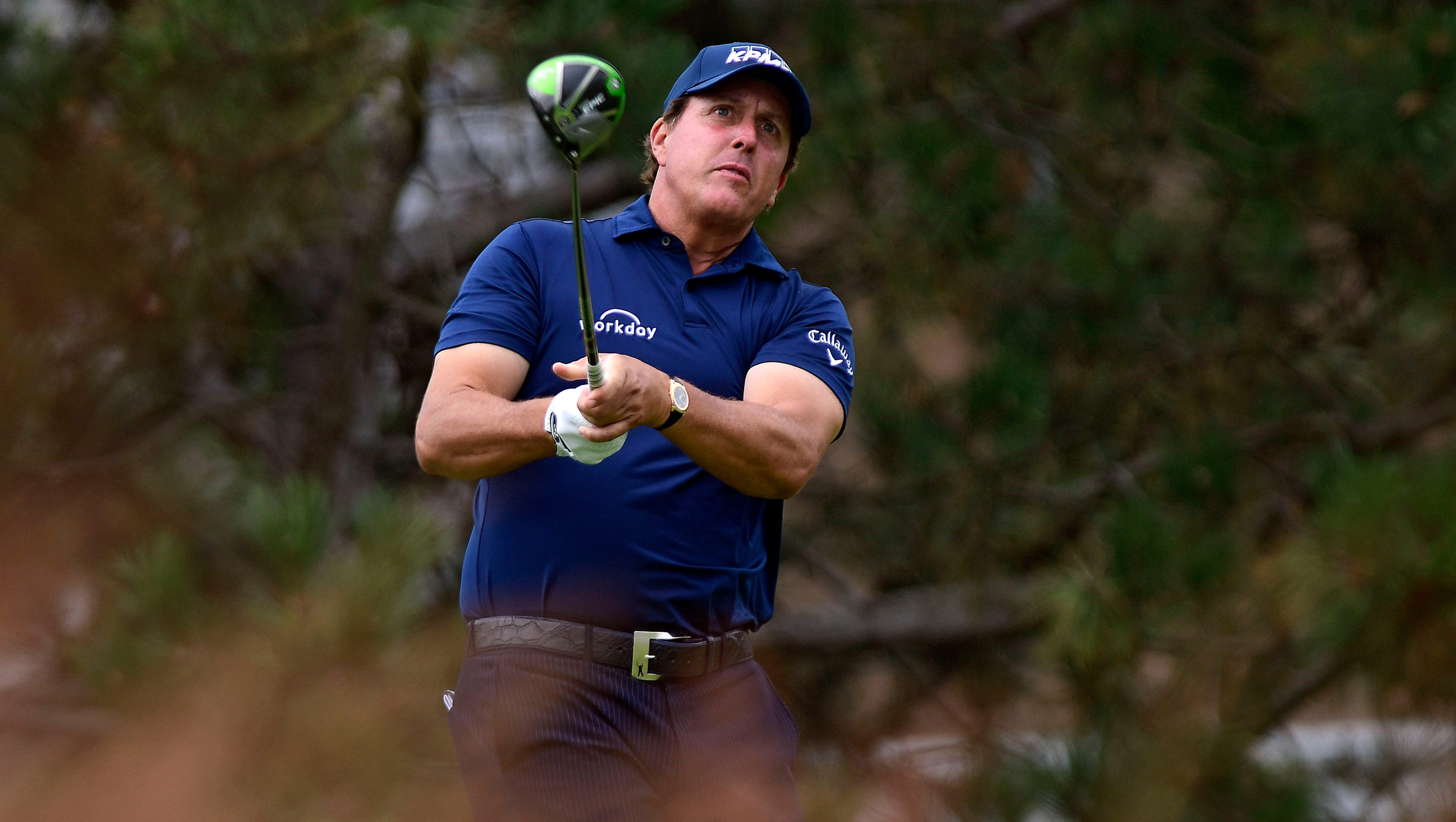 Phil Mickelson Wastes No Time Getting Back On Course