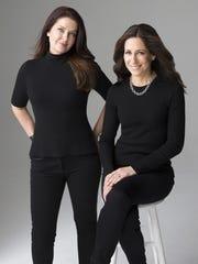 'The Wife Between Us' authors Sarah Pekkanen, left, and Greer Hendricks.