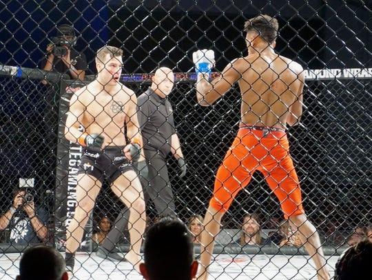 Christopher Elisarraras squares off against Jaylon