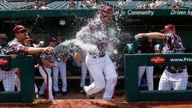 Scenes from Missouri State's 14-9 win over Southern Illinois at Hammons Field on Saturday, May 12, 2018.