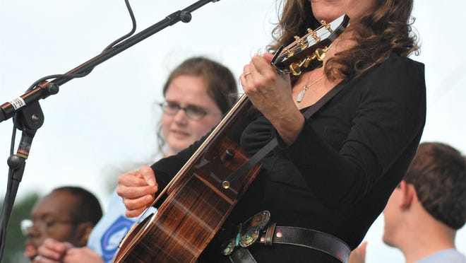 FILE - Amy Grant performs onstage with the Miracle League of Augusta during the Family Y Miracle Concert at First Tee of Augusta, Sunday, Oct. 12, 2008.