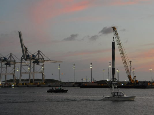 SpaceX arrives at Port Canaveral