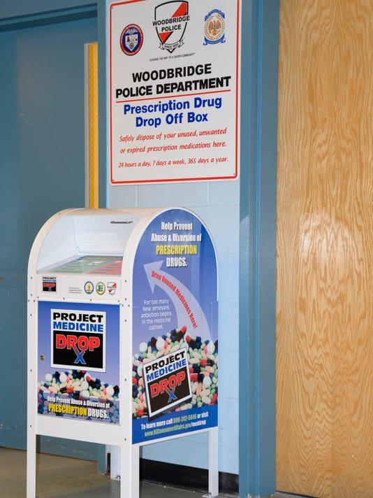 Woodbridge: Police department hosts 'Operation Prescription Drug Take Back' PHOTO