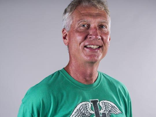 Lafayette High Track & Field coach Ron Baillargeon,