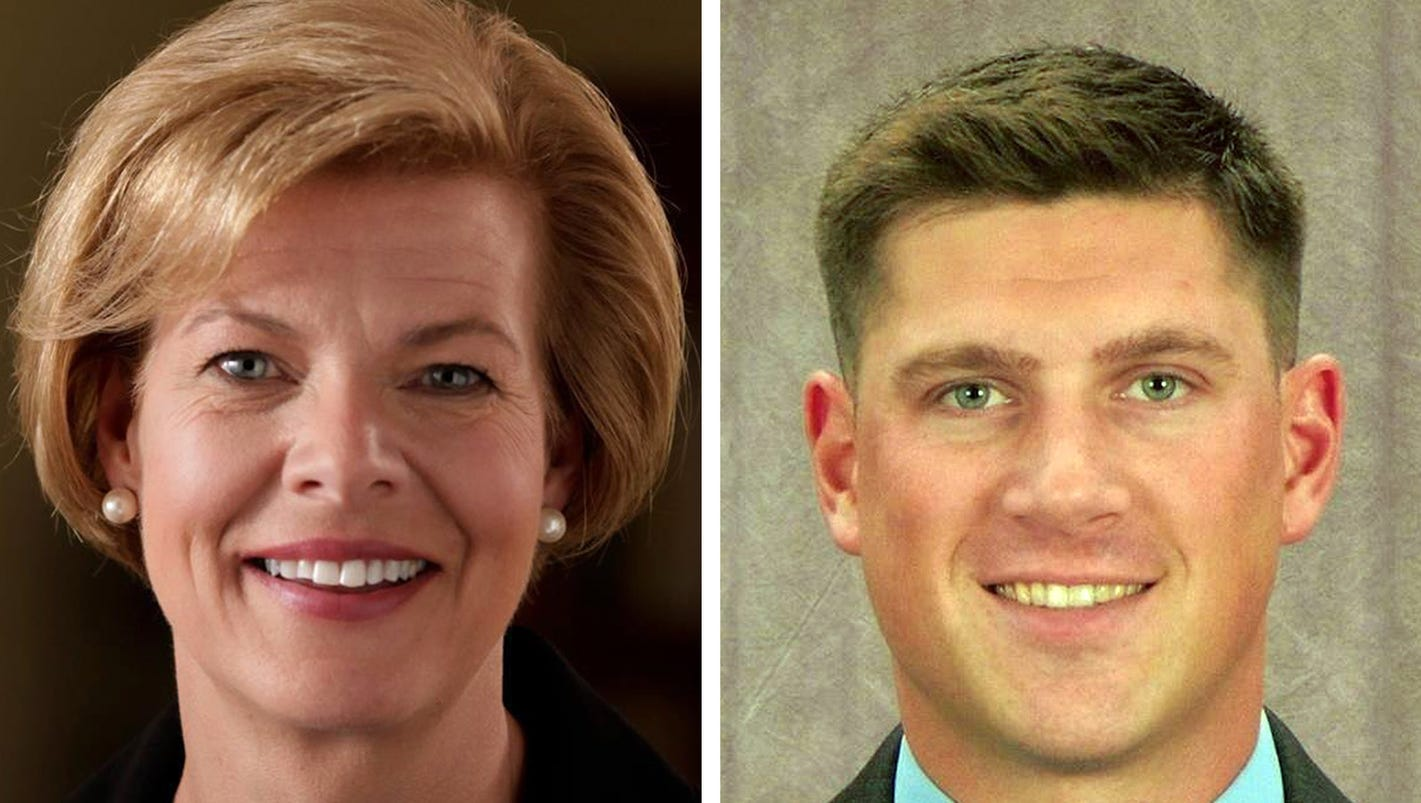 Image result for PHOTOS OF SEN BALDWIN Kevin Nicholson