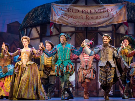 "Cast of the ""Something Rotten!"" National Tour."