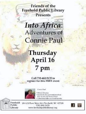 Into Africa: Adventures of Connie Paul