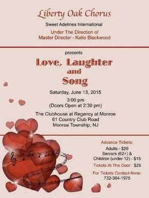 Liberty Oak Chorus Annual Show