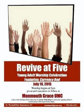 Revive at Five at Monmouth Grace UMC