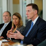 John Pistole, outgoing TSA administrator, meeting with the USA TODAY Editorial Board on Nov. 12.