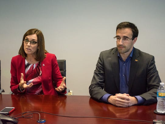 Incumbent Republican U.S. Rep. Martha McSally and Democratic