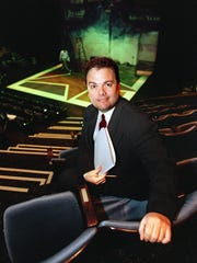 David Saint, shown on Dec. 1, 1997, after he was named artistic director at George Street Playhouse in New Brunswick.