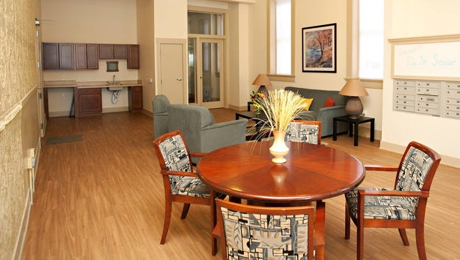 Over-the-Rhine Community Housing says furniture from its new senior housing center in Over-the-Rhine has been stolen.