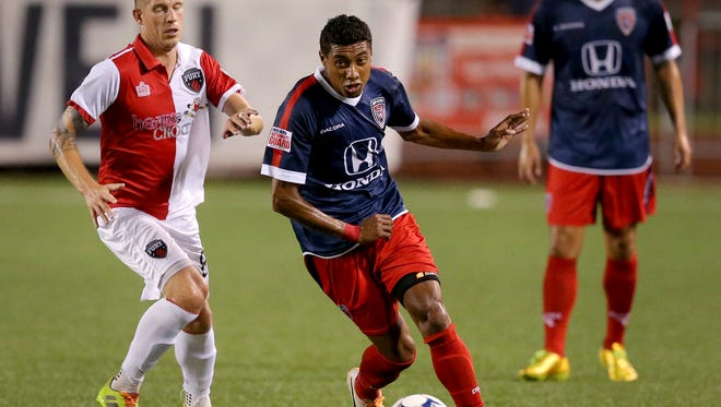Brazilian playmaker Kleberson is back for a second season with Indy Eleven.