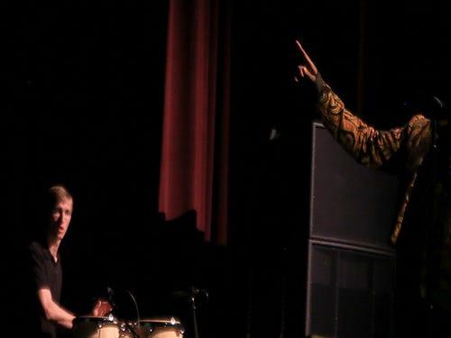 Alex Boyé performs Feb. 6 at Desert Hills High School