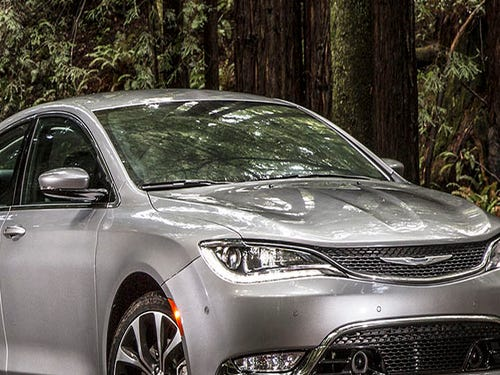 The 2017 Chrysler 200 and the 2016 Dodge Dart