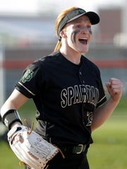 Oshkosh North's Sydney Supple shared player of the