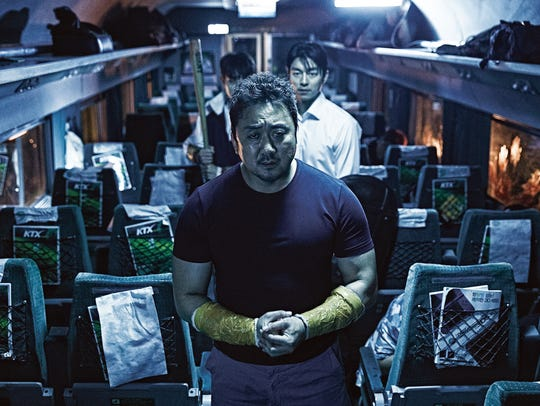 "Dong-seok Ma stars in ""Train to Busan."""