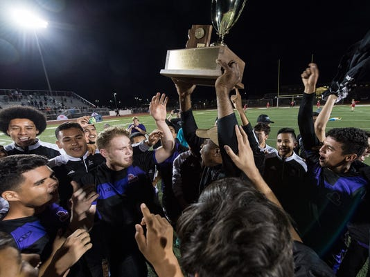 5A boys state championships: North Canyon vs. Campo Verde