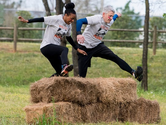 Civil Ties United holds a Wet-Run at Lagoon Park in
