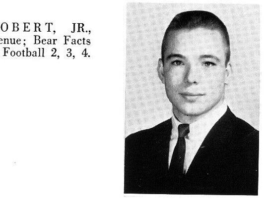 John Robert Baldridge Jr., in his 1964 Bossier High
