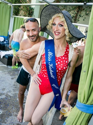 Miss Kobalt was looking great during Kobalt's Summertime Pool Party at the Clarendon on Saturday, Augsut 5, 2017.
