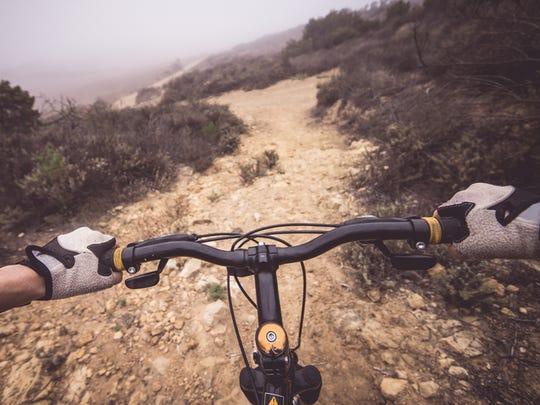 Mountain bike POV