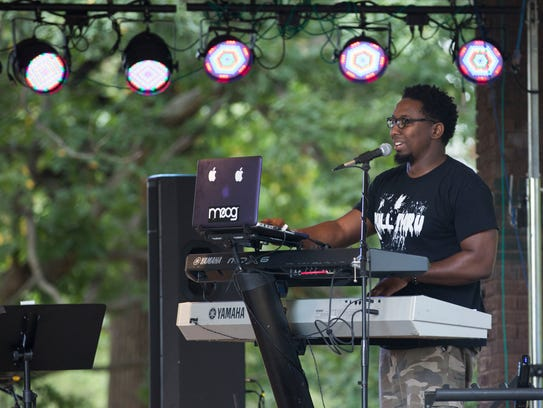 Factor Primo takes the stage at Parksfest on Saturday
