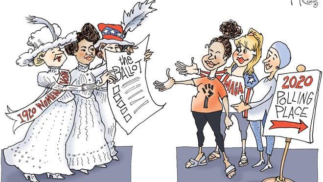 Signe cartoon\rTOON19\r19th Amendment
