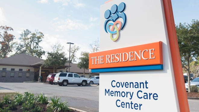 The Residence - Covenant Memory Care Center in Pensacola on Friday, December 1, 2017.