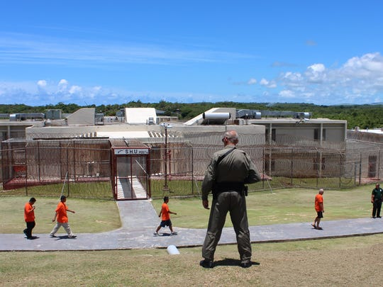 Department of Corrections prison in Mangilao is shown in this file photo. Dr. Larry Lizama, the Guam Memorial Hospital medical director who oversees the medical clinic at the prison, said 100 inmates and detainees in the prison have hepatitis C.
