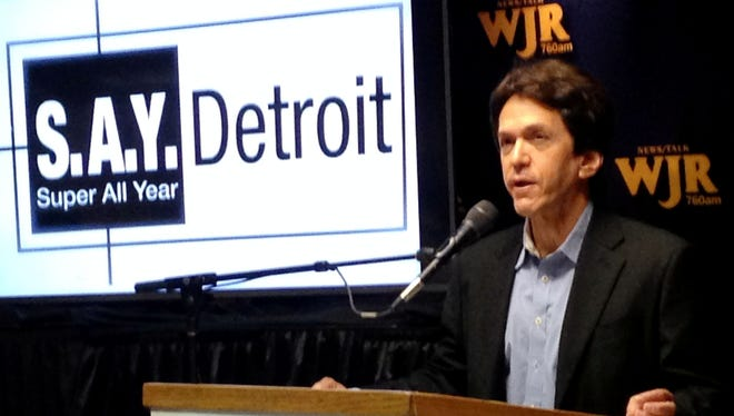 Mitch Albom raised more than $800,000 for charity in 2015.