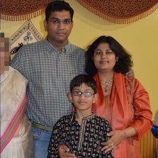 Sumeet, Pallavi and Arnav Dhawan