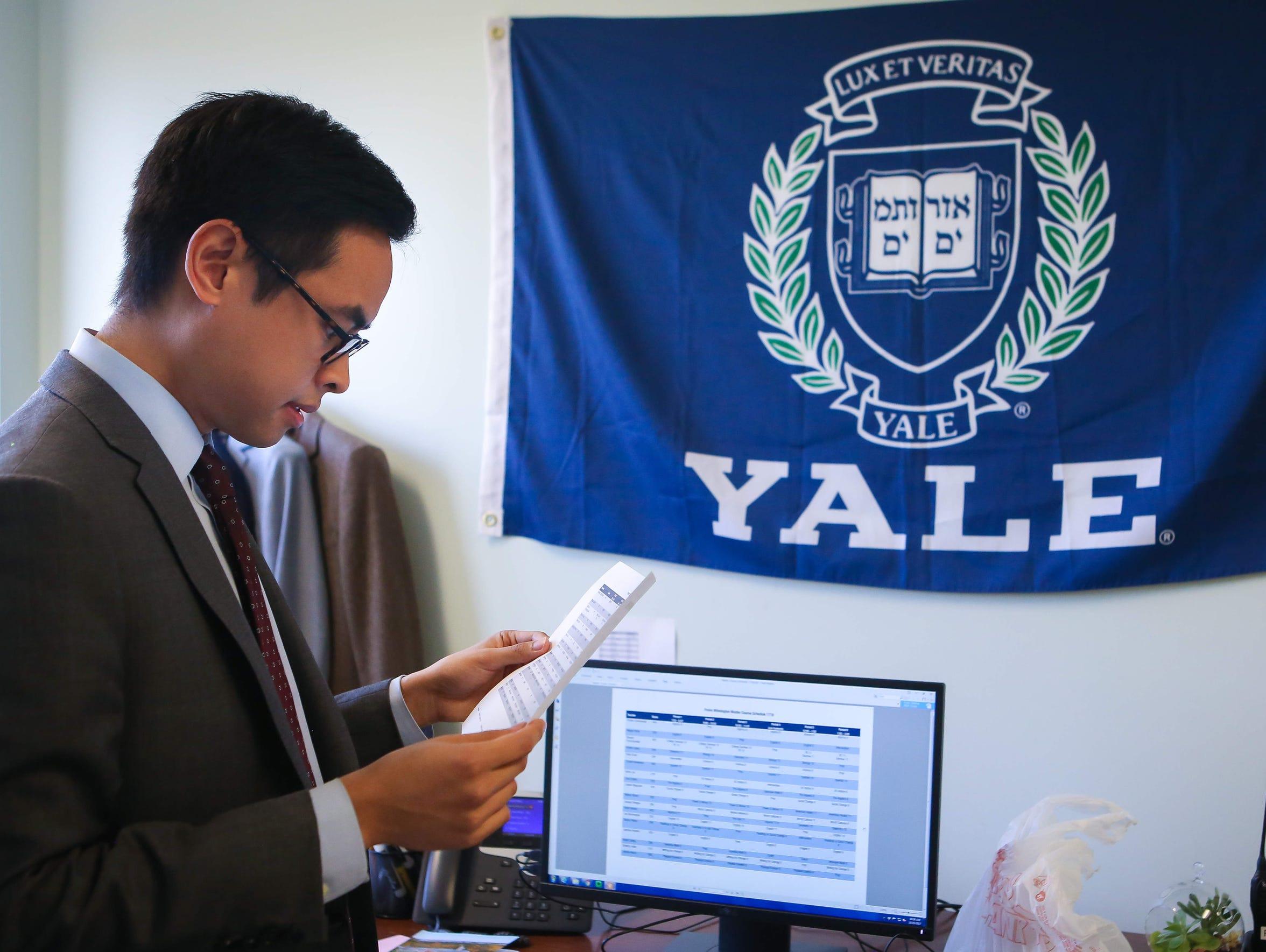 Paul Ramirez, co-head at Freire Charter School Wilmington,