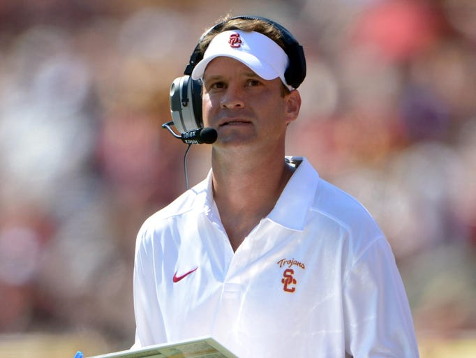 Under Kiffin this season, USC is 3-2, but it is 0-2 in the Pac-12.