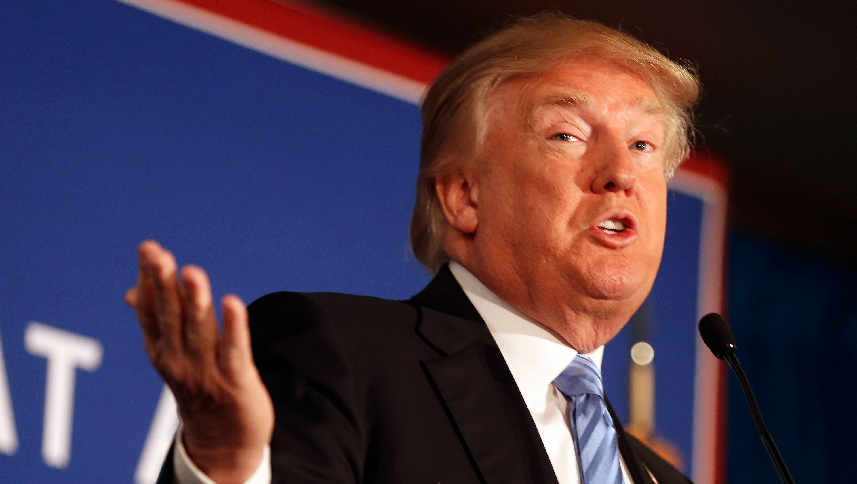 White nationalists urge support for Donald Trump in Iowa