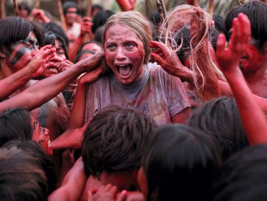 """Still of Ignacia Allamand in """"The Green Inferno."""" (Blumhouse Productions)"""